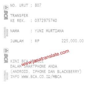 Order terjemahan indonesia inggris kilat